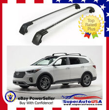 Top Roof Rack Fit  For Hyundai Santa Fe XL 2013 - 2017 Baggage Luggage Cross Bar
