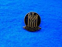 EARLY UNKNOWN M.M.I? 'FIRST THINGS FIRST' ENAMEL LAPEL BADGE, E.S.A. LONDON