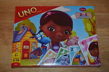 2013 Disney Junior DOC MCSTUFFINS UNO Kids Card Game Ages 5+ NEW