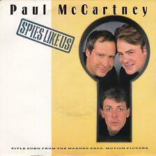 "Paul McCartney ""Spies Like Us"" 1985 U.K. Record (NM) & Picture Sleeve (VG++)"