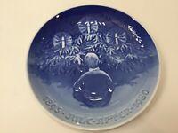 "B & G, Bing & Grondahl, 1895-1980 Christmas Plate, 9"" Diameter"