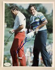 JC Snead Signed Photo 8x10 Dave Stockton Golf Autograph US Open Major Winner JSA