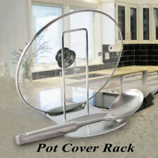 Kitchen Accessories Pot Cover Rack Spoon Rest Stove Organizer Stainless Steel