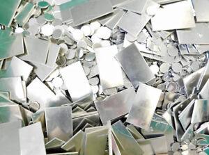 Five Pounds Aluminum Scrap Drops, Slugs, Pieces Melting Smelting Casting SA-5Lb