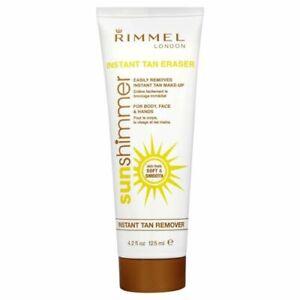 Rimmel Sunshimmer Instant Tan Remover 125 ml Removes Tan Make-up