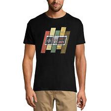 ULTRABASIC Homme T-shirt Retro Oldschool Gamer - Joueur Rétro Vintage - Cadeau