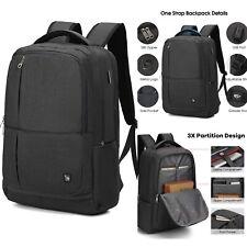Large College Laptop Backpack 17 Inch Business 17.3 Inch Bagpack USB Port Built