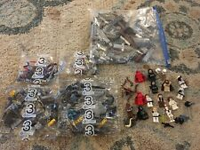 LEGO Star Wars Incomplete Death Star 10188 #3 Sealed Poly Bags parts Lot + Figs