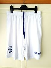 Birmingham City Home Shorts 2013. Large. Official Diadora. White Football Only.