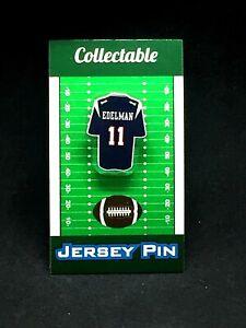 New England Patriots Julian Edelman jersey lapel pin-Collectable-3X SB Champion