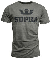 Supra Above Mens T Shirt Short Sleeved Top Casual Grey 104000 032 RW93