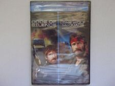 Code of silence / lone wolf McQuade  Chuck Norris   2-DVD set  New sealed