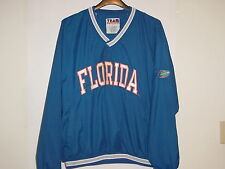 UNIVERSITY OF FLORIDA 100% Polyester Shell XL Jacket, Orange & Blue