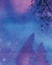 Benartex Fossil Fern by Patricia Campbell 528 8 Midnight BTY Cotton Fab