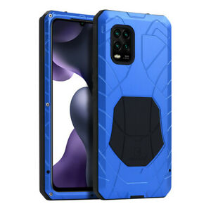 iMATCH Shockproof Outdoor Metal Case for Xiaomi Mi 11/Ultra/Lite/Poco X3/Note 10