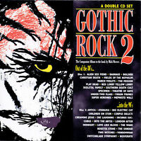 GOTHIC ROCK 2 Various Artists 2 CD BRAND NEW STILL SEALED SUPER RARE GIFT