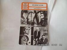 CARTE FICHE CINEMA 1937 UN CARNET DE BAL Marie Bell Francoise Rosay Louis Jouvet