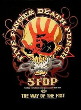 "Five Finger Death Punch schiena ricamate/Back Patch # 2 ""the Way of the Fist"""