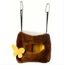 Tree Stool Hammock for Parrot Rabbit Guinea Pig Ferret Hanging Bed Toy House