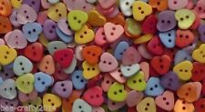 Unbranded Heart Plastic Scrapbooking Buttons