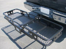 "Folding Cargo Carrier Luggage Basket 2"" Receiver Hitch Truck SUV Pick Up 60""X20"""