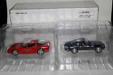 Road Champs, 2 Pack, Die Cast Metal Chevrolet Corvettes, 1963 Split Window,1997