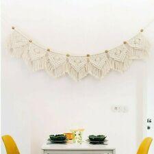 Cotton Macrame Dream Catchers Living Room Curtain Wall Hanging Ornament Handmade