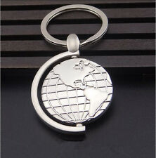Mirror Polished Cute Globe Tellurion Keyring Keychain Men/Women Novelty Gift