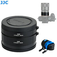 Auto Focus Marco Extension Tube Adapter Set for Sony E Mount Lens /& Camera A9 A7RIII A7III A7RII A7SII A7II A7R A7S A7 A6500 A6400 A6300 A6000 A5100 A5000 with Body//Rear Lens Cap /& Storage Pouch