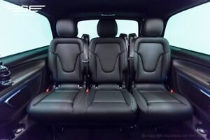 Mercedes V Class Bench Seat - V Class /Vito - Comfort 2+1 Comfort Black Leather