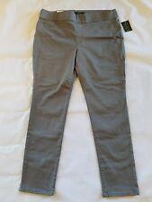 New Lauren Ralph Lauren grey stretch pants size 16