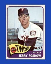 1965 Topps Set Break #529 Jerry Fosnow NR-MINT *GMCARDS*
