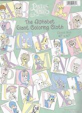 """Precious Moments Reusable The Alphabet Giant Coloring Cloth 40""""x 60"""""""