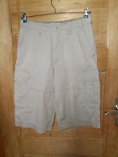 Herren Vintage 80er/90er Cargo/Shorts Gr. W30 beige *** OLD NAVY *** Top Zustand