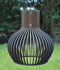 Hängelampe Modern Medium Holzleuchte Pendelleuchte Deckenlampe Holz Neu
