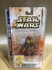 STAR WARS Clone Wars - KIT FISTO - Army of the Republic in Star Case #49 Hasbro
