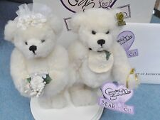 Annette Funicello~Virginia and Joe BRIDE AND GROOM BEARS~Boxed with Papers