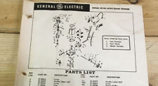 Vintage orig General Electric Model HE-06 Lawn Edge Trimmer IPLs  Elec-Trak