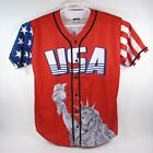 Donald Trump USA Baseball Jersey #45   Patriotic Statue of Liberty, Size 2XL