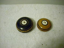 2 Mexican Wooden YoYo 's with Hand Carvings
