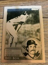 WADE BOGGS RED SOX ROOKIE CARD 1983 TOPPS ONLY ONE ON EBAY 1 OF 1 ULTRA RARE