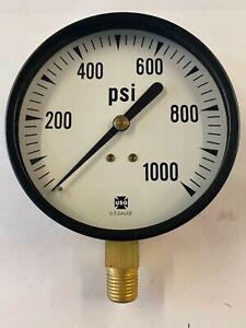 Ametek US Gauge Pressure Gauge 0-1000 PSI NIB Lot of 5