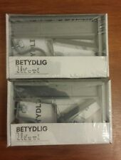Ikea Curtain Rod Holder Bracket Gray (Pair) Betydlig Adjustable