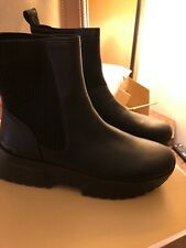 MICHAEL Michael Kors COSMO LEATHER SNEAKER BOOT(IE) in BLACK- WOMEN - SIZE 9❤️