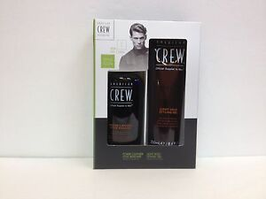 AMERICAN CREW POWER CLEANSER DAILY SHAMPOO & LIGHT HOLD STYLING GEL SET