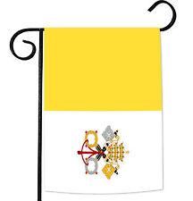 Toland Flag of Vatican City 12.5 x 18 Roman State Catholic Garden Flag