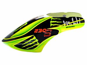 Airbrush Fibreglass Green Monster Canopy - BLADE 230S / 230S V2 (MH-230S080GM)