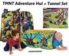 Kids TMNT Teenage Mutant Ninja Turtles DISCOVERY Tent ADVENTURE PLAYHUT +TUNNEL