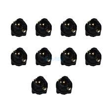 "10x 3/8"" Instrument Panel Sockets 9mm Cluster Plug Dash Light Bulb LED For Kia"