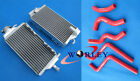 Aluminum Radiator & hose for Honda CR125R CR 125R CR125 2000 2001 00 01